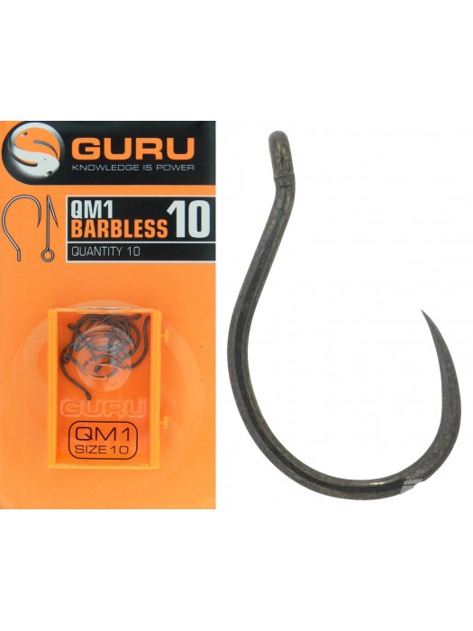 Guru QM1 Barbless 10