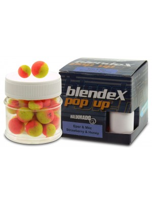 Haldorádó BlendeX Pop Up Big Carps 12, 14 mm - Jahoda a Med