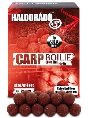 Haldorádó Carp Boilie Long Life 24 mm - Korenistá Červená Pečeň