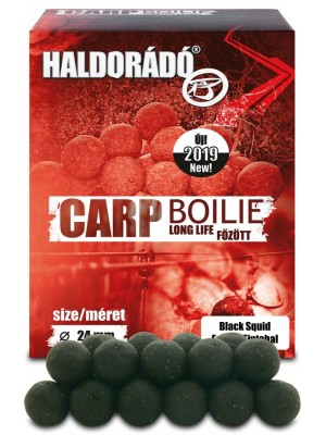 Haldorádó Carp Boilie Long Life 24 mm - Čierny Kalamar