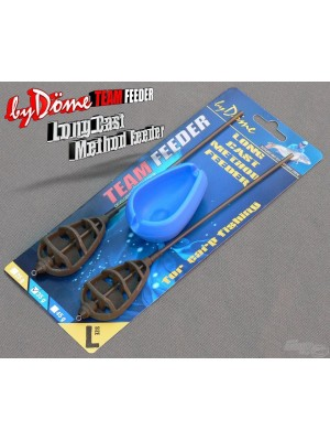 By Döme Team Feeder Long Cast Method Feeder košík -set L 35 g