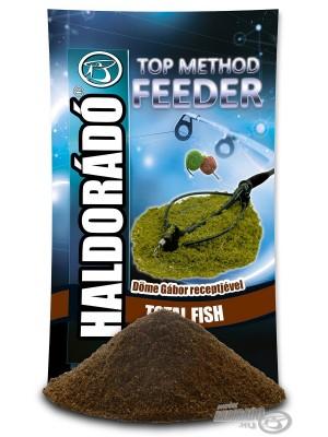 Haldorádó Top Method Feeder Total Fish