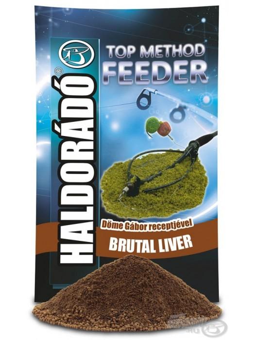 Haldorádó TOP Method Feeder Brutal Liver
