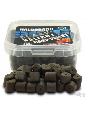 HALDORÁDÓ BLACK HALIBUT CARP PELLET 8 MM - MAGYAR BETYÁR (Klobása)