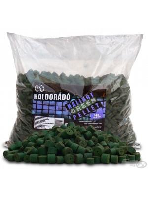 HALDORÁDÓ GREEN HALIBUT PELLET 5 KG