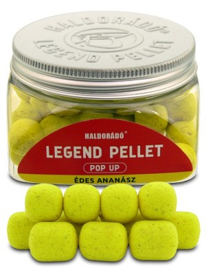 Haldorádó Legend Pellet Pop Up 12, 16 mm - Sladký Ananás