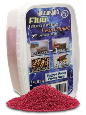 Haldorádó Fluo Micro Method Feed Pellet - Fagyos Ponty / Mrazivý Kapor