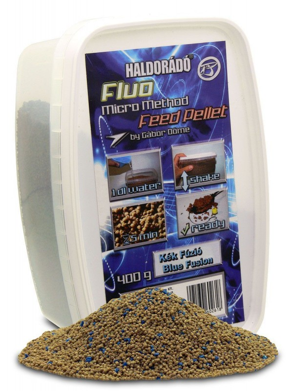 Haldorádó Fluo Micro Method Feed Pellet - Brutal Liver