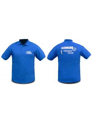Haldorádó Feeder Team tričko s krátkym rukávom a golierom M
