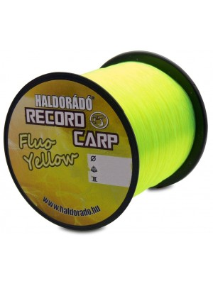 Haldorádó Record Carp Fluo Yellow 0,20 mm / 900 m - 5,0 kg