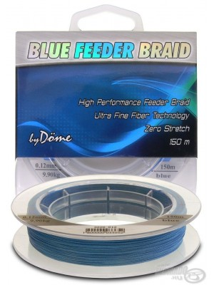 By Döme Team Feeder Blue Feeder Braid 150 m / 0.06 mm