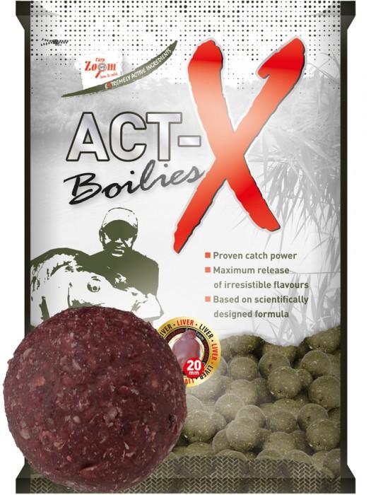 Carp Zoom Act-X Boilies - 16mm - Hot Spice-Garlic (štipľavé korenie – cesnak)
