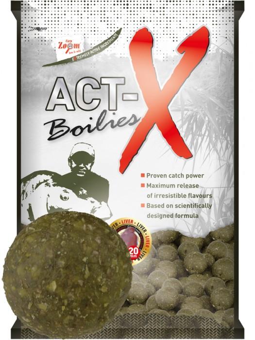 Carp Zoom Act-X Boilies - 16mm - Liver (pečeň)