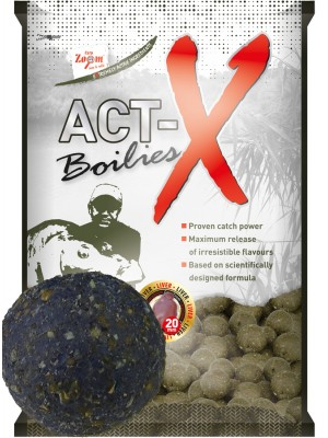 Carp Zoom Act-X Boilies - 16mm - Plum (slivka)