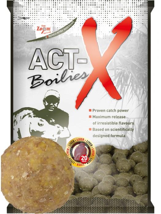 Carp Zoom Act-X Boilies - 16mm - Vanilla (vanilka)