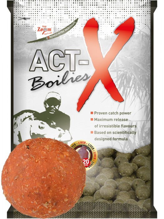 Carp Zoom Act-X Boilies - 20mm - Exotic Fruits (exotické ovocie)