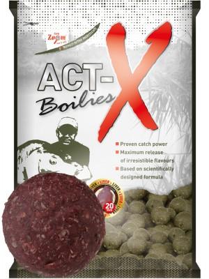 Carp Zoom Act-X Boilies - 20mm - Hot Spice-Garlic (štipľavé korenie – cesnak)