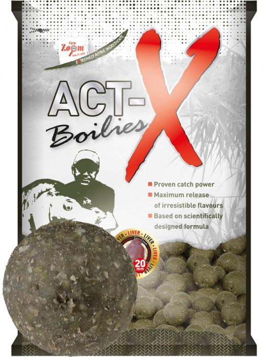 Carp Zoom Act-X Boilies - 20mm - Shellfish-Sardine (mäkkýš  – sardinka)