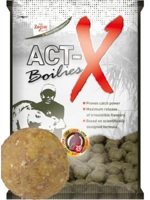 Carp Zoom Act-X Boilies - 20mm - Vanilla (vanilka)