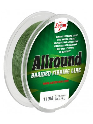 Carp Zoom Allround spletaná šnúra - 0,12mm6,30kg