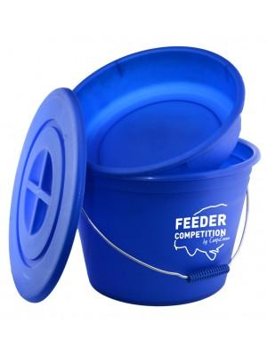 Carp Zoom Bait Bucket&Bowl - Vedro rybárske + miska + vrchnák