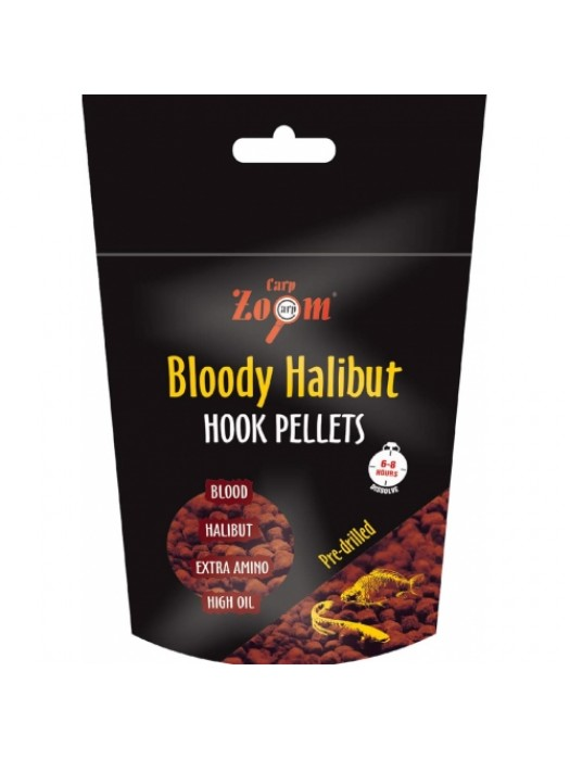 Carp Zoom Bloody Halibut Hook Pellets 8 mm
