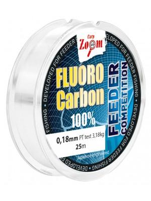 Carp Zoom Fluorocarbon nadväzcový silon - 0,22mm - 4,36kg