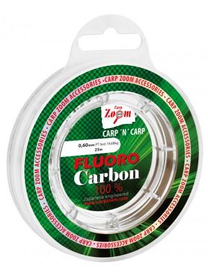 Carp Zoom Fluorocarbon nadväzcový silon - 0,60mm - 19,68kg