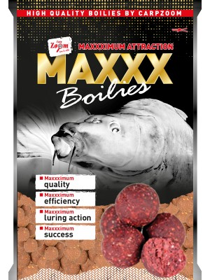 Carp Zoom MAXXX Boilies - Jahoda-Ryba 20mm