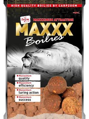 Carp Zoom MAXXX Boilies - korenená chobotnica- krill 20mm