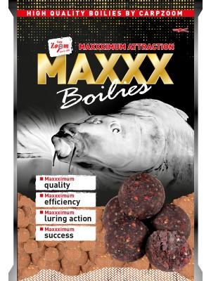 Carp Zoom MAXXX Boilies - korenená klobása-robin red) 16mm