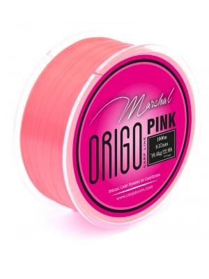 Carp Zoom Marshal Origo kaprársky vlasec - ružová - 1000m - 0,26mm