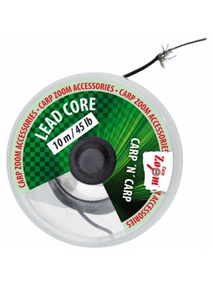 Carp Zoom Olovená nadväzcová šnúra - 10m/25lb/11,4kg (hnedá)