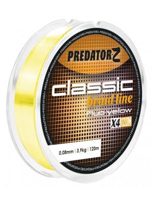 Carp Zoom Predator – Z Classic spletaná šnúra – fluo žltá - 0,08mm - 3,9kg