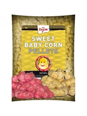 Carp Zoom Sweet Baby Corn Pellets (Jahoda) 800g