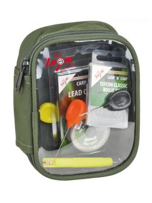 Carp Zoom Taška na drobnosti s priehľadným vrchom M - 16x11,5x7 cm