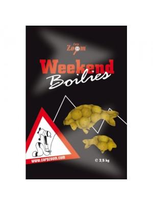 Carp Zoom Weekend Boilies - Mäsový mix - 2500g