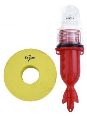 Carp Zoom Svietiaca bójka s LED svetlom červená