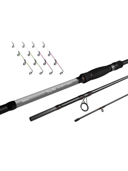 Delphin Long Shot feeder + 4 špičky - 360cm/3,5lbs