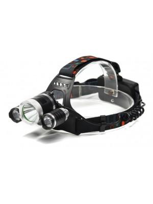 Trixline Sport 10W + 2X3W - dobíjateľná čelovka