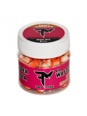 Feeder Mania Air Wafters Two Tone 8 mm Sweet Chocolate