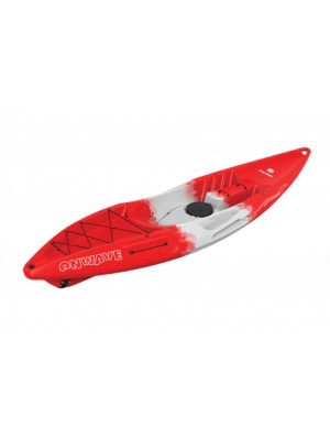 Kajak Kolibri OnWave-300 Red + By Döme Team Feeder Carp Fighter 60 zdarma