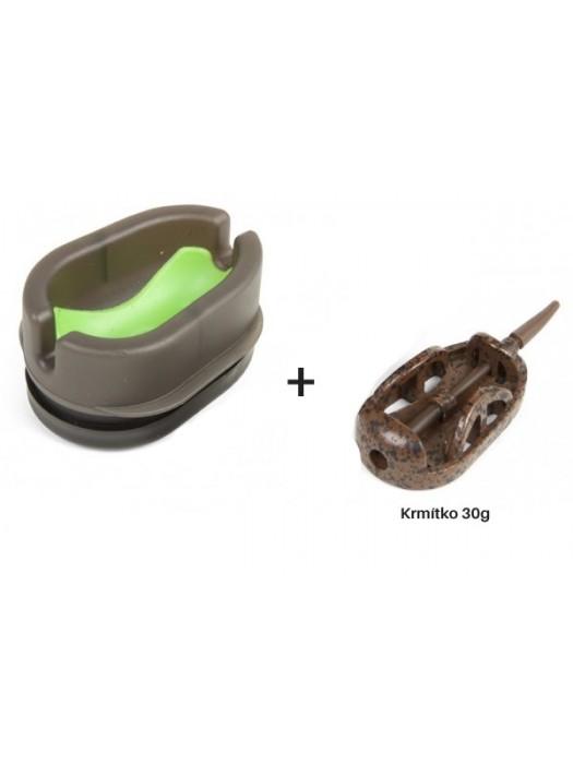 Korum Dura Method Feeder Mould + 30g krmítko