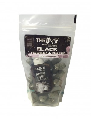 The Black One PVA Sausage + 100ml aroma