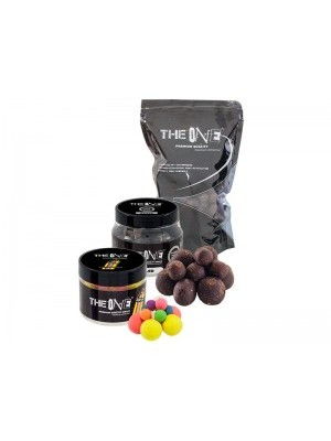 The Black One rozpustné boilies 18mm 1kg
