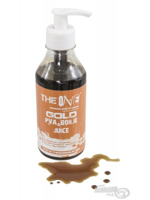 The Gold One PVA & Boilies Juice 250ml